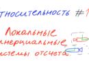 Относительность 14 — Локальные инерциальные системы отсчета